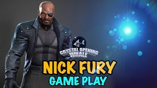 Nick Fury Gameplay-Marvel Contest of Champions