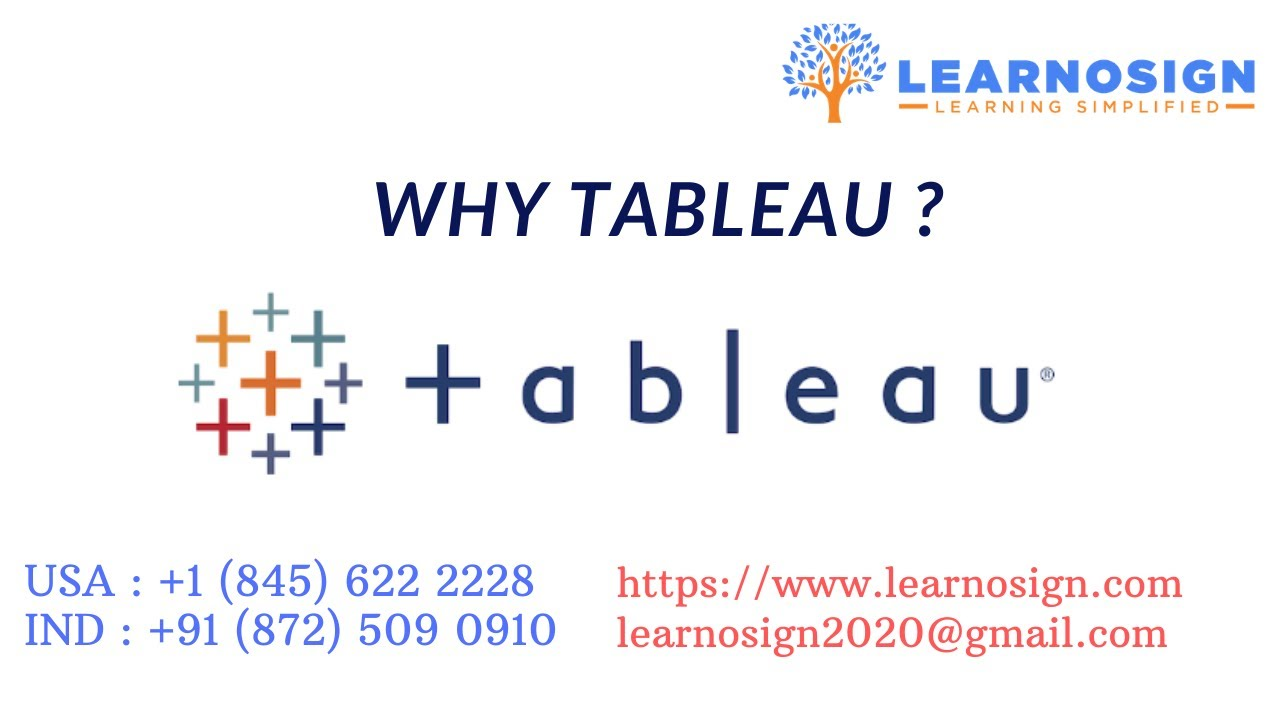 Tableau Online Training- Learn From Expert of Tableau