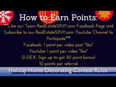 Holiday Home Decorating Contest Rules