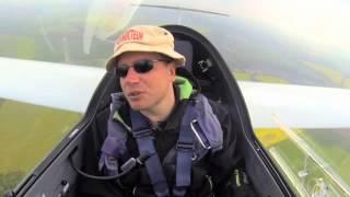 Antoine Motillon, premier pilote-instructeur de planeur handicapé de France