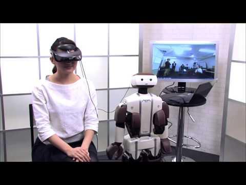 V-Sido OSによるロボットのヘッドトラッキング/Robot control using HMD via V-Sido OS