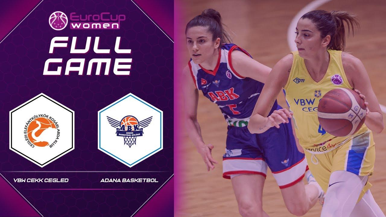 VBW CEKK Cegled v Adana Basketbol | Full Game - EuroCup Women 2020-21