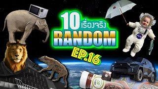 10 เรื่องจริงแบบสุ่ม (Random) ที่คุณอาจไม่เคยรู้ ~ EP.16