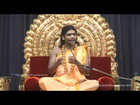 Ashtanga Yoga: Ahimsa & Global Peace - Patanjali Yoga Sutras 86: Nithyananda Satsang 19 Dec 2010