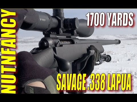 Savage 110FCP: The Affordable  Lapua! [Full Review]