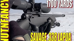 Savage 110FCP: The Affordable .338 Lapua! [Full Review]