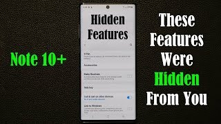 Galaxy Note 10 and 10 Plus - Discover these 5 HIDDEN FEATURES