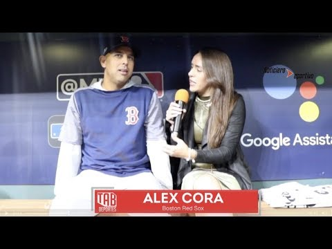 """Alex Cora """"Soy Latino, Soy Minoría, pero no me pongo limitaciones"""""""