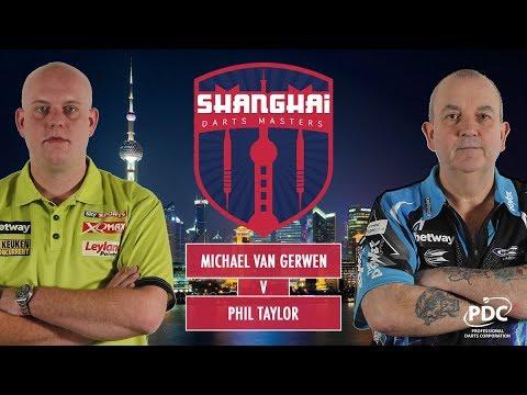 2017 Shanghai Darts Masters Quarter Final van Gerwen vs Taylor