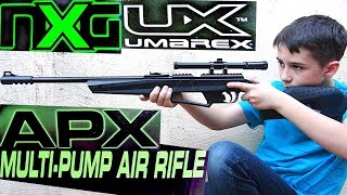 nxg umarex apx multi pump air rifle with robert andre