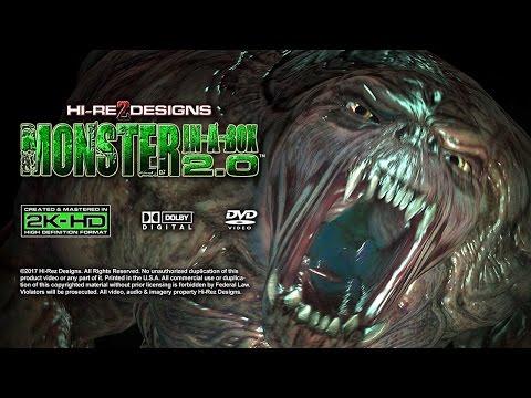 MONSTER IN-A-BOX 2.0: DELUXE EDITION - VISUAL FX DEMO SAMPLE - NEW FOR 2017