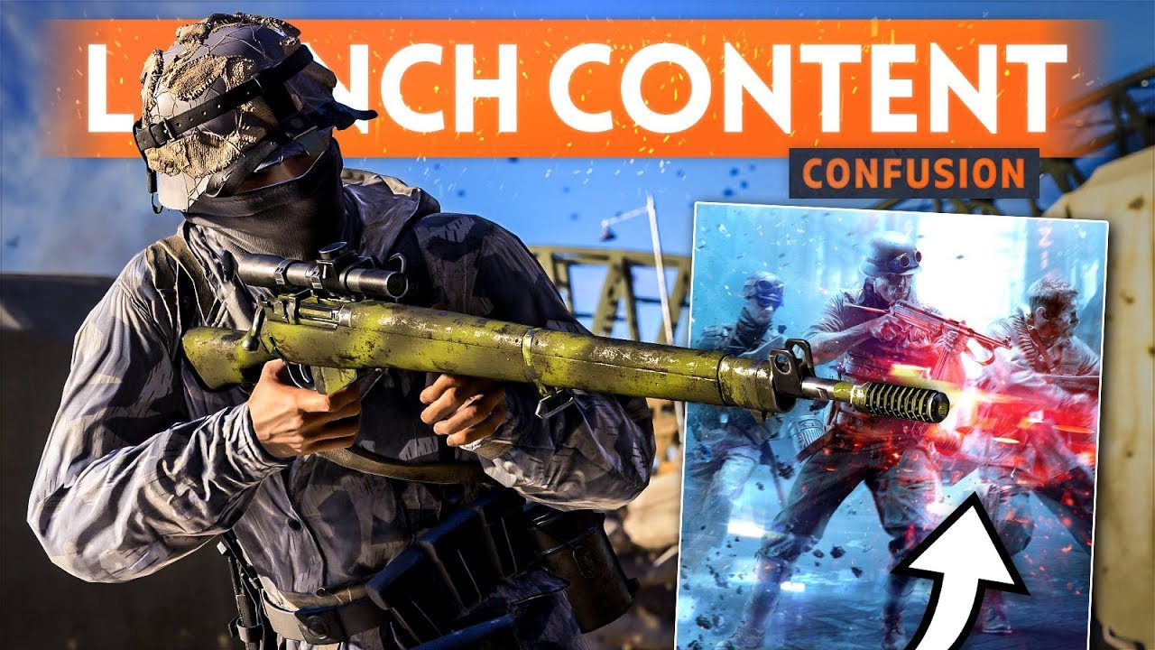 BF5 LAUNCH CONTENT CONFUSION! - List of Battlefield 5 Features (Co-op, Soldier Dragging & RSP)
