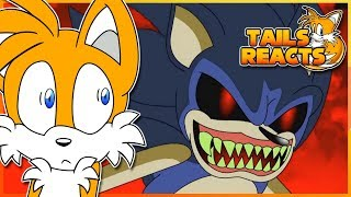 Tails Reacts To Sonic.EXE Trilogy! (Part 1, 2 & 3)