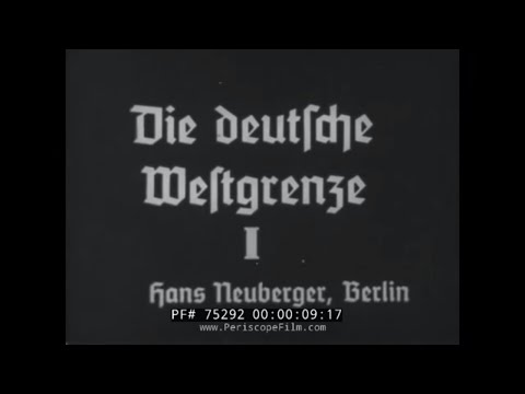 GERMAN SILENT HISTORY FILM -- RIVERS OF GERMANY & EUROPE 75292