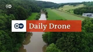 #DailyDrone: Die Lahn | DW Deutsch