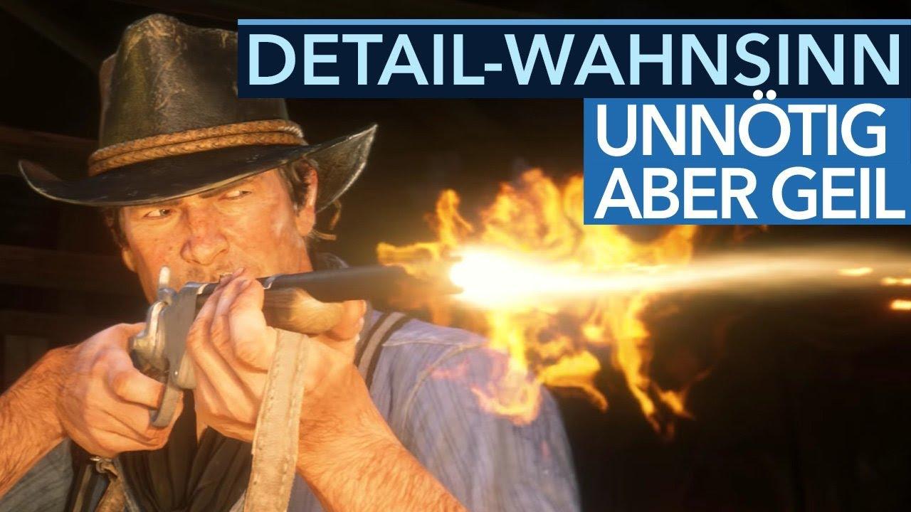 20 wahnsinnige Details in Red Dead Redemption 2, die niemand vermisst hätte