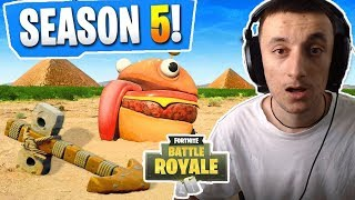SEASON 5 Secrets And Rumors Found In Fortnite: Battle Royale