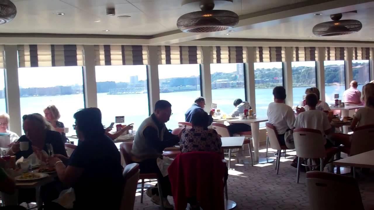 Ncl Breakaway Buffet Dining Room Youtube