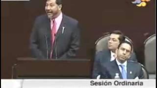 Gerardo Fernández Noroña en la comparecencia de Javier Lozano