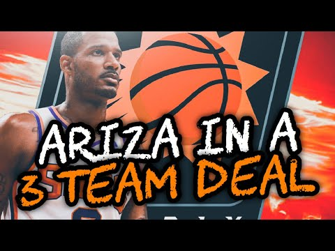 ARIZA IN 3 TEAM DEAL? PHOENIX SUNS REBUILD! NBA 2K19