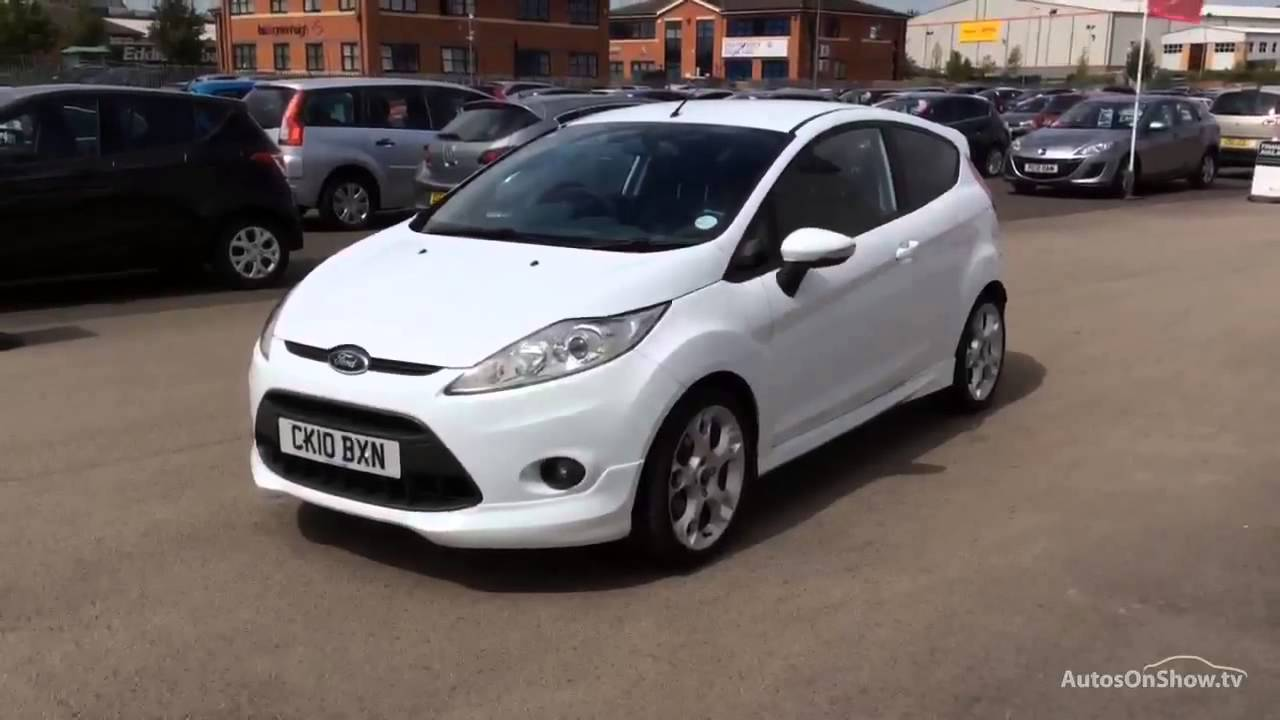 ford fiesta zetec s tdci white 2010 youtube. Black Bedroom Furniture Sets. Home Design Ideas