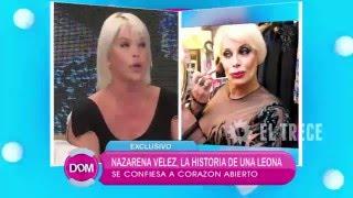 Nazarena Vélez a corazón abierto: habla de Carmen Barbieri