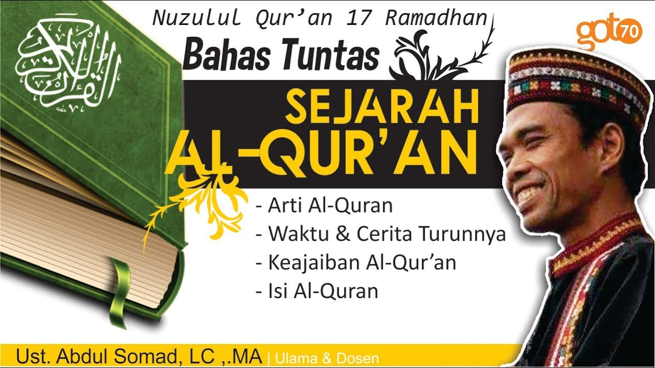 Nuzulul Quran Ustadz Abdul Somad   Wallpaper