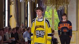 Balmain Menswear Spring/Summer 2019