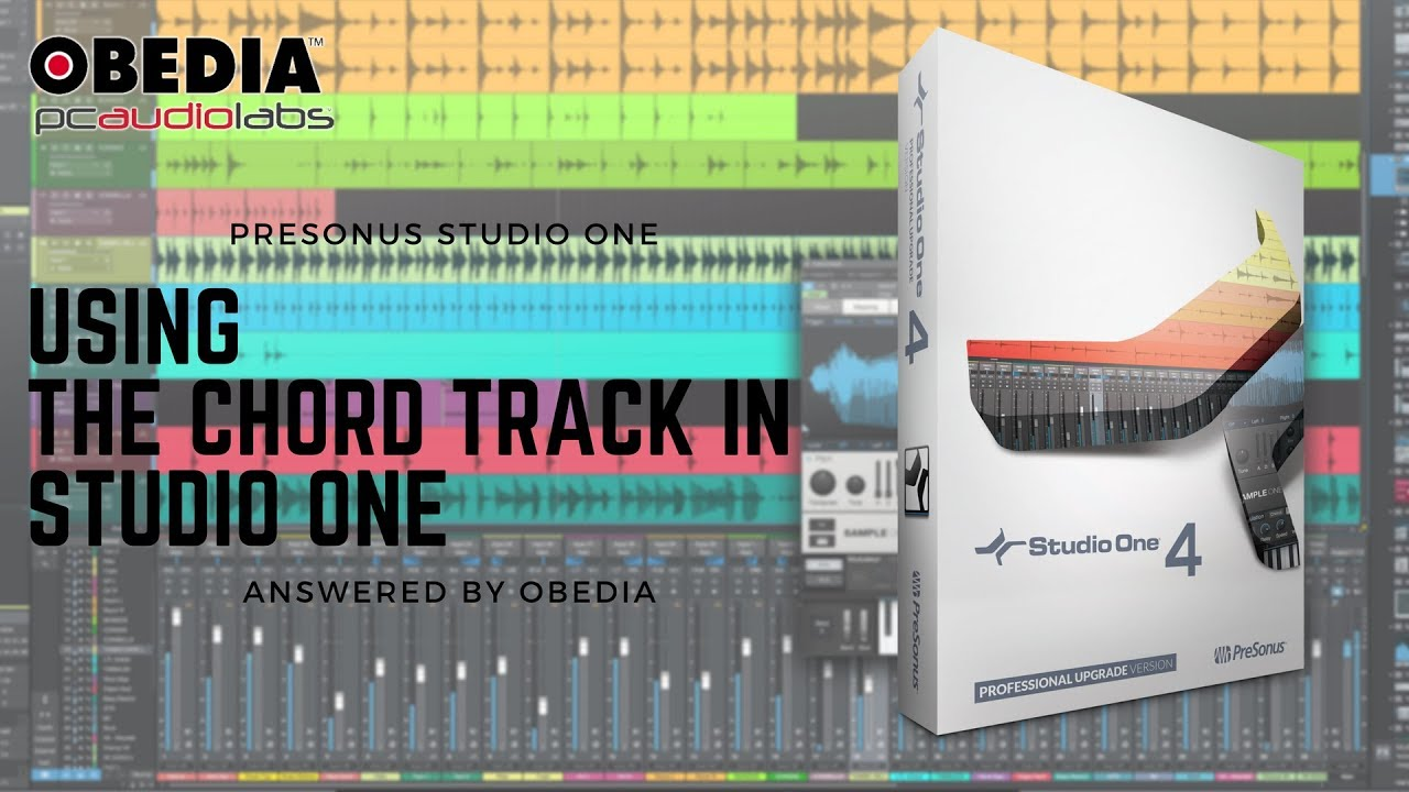 Studio One 4: How to Use the Chord Track