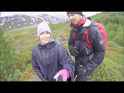 Hiking Abisko national park Sweden