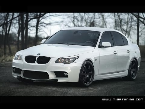 bmw 5 series e60 m5 body kit f10 look youtube. Black Bedroom Furniture Sets. Home Design Ideas