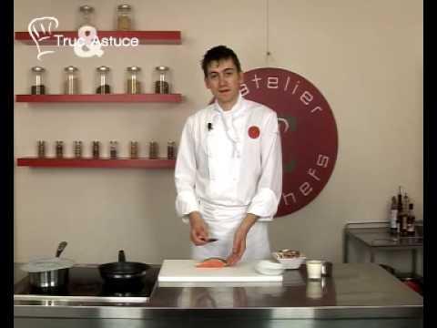 recette-de-pavé-de-saumon,-champignons-à-la-crème,-riz-basmati