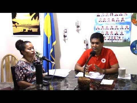 Family Hour w/ Palau Red Cross Society's chairman & executive director (October 23, 2017)