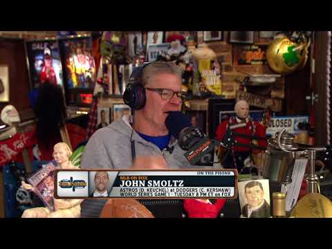 John Smoltz: 90's Braves Could've Won Multiple World Series Titles | The Dan Patrick Show | 10/23/17