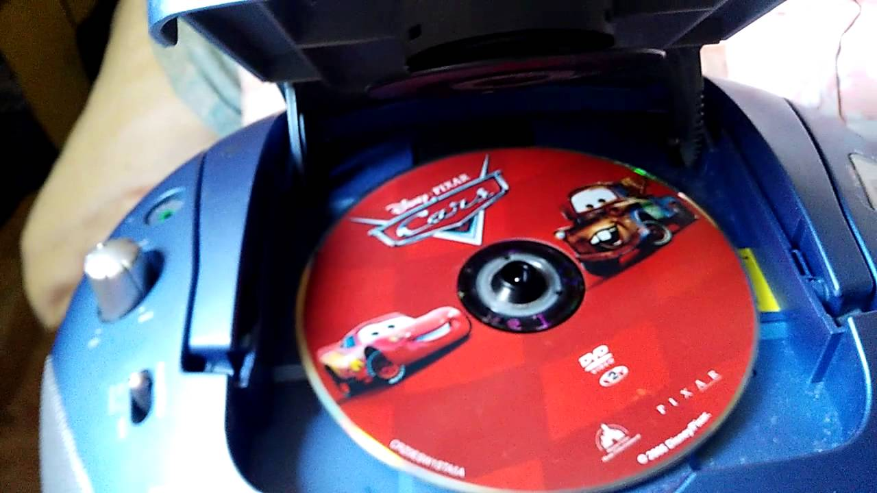 what happens when you put a dvd in a cd player youtube