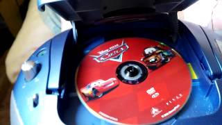 what happens when you put a dvd in a cd player