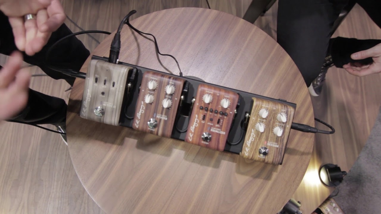 LR Baggs Align Series Acoustic Pedal Reverb