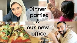 Dinner parties & our new office!