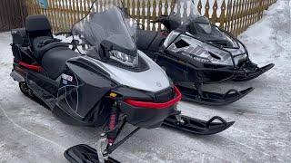 Тест Frontier 1000 и Patrul 800 по глубокому снегу