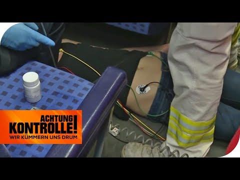 Lebensgefahr! Drogen-Cocktail zwingt Frau (20) in die Knie! | Achtung Kontrolle | kabel eins