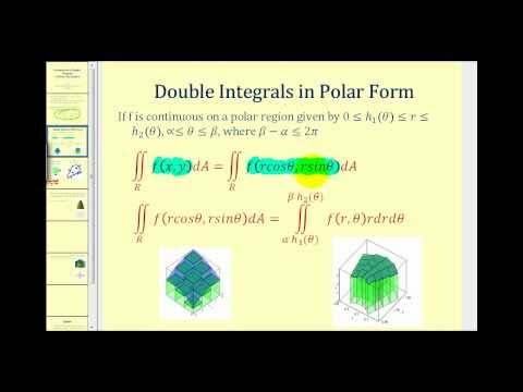 Introduction to Double Integrals in Polar Coordinates