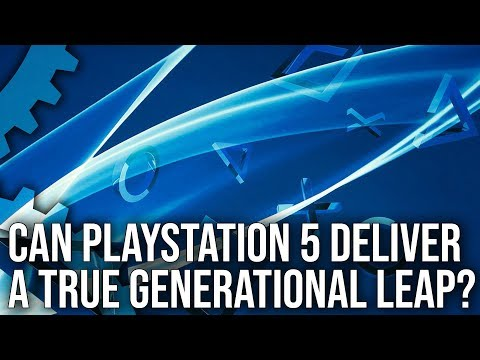 PS5 Specs Detailed Alongside Hard Drive and Ray Tracing