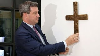 Bavaria Orders Christian Crosses to be Displayed on Govt Buildings!!!