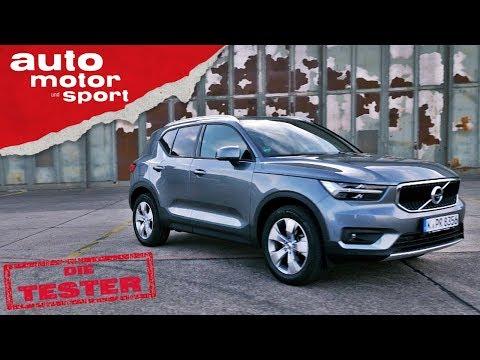 Volvo XC40 T3: Reichen nur 3 Zylinder im SUV? - Test/Review   auto motor und sport