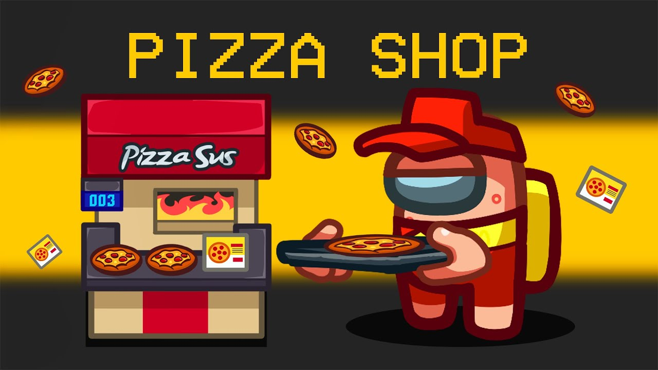 Download I Opened a PIZZA SHOP in Among Us!