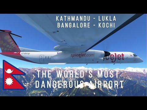 [STREAM - 2 FLIGHTS] Infinite Flight GLOBAL: Kathmandu-Lukla & Bangalore-Kochi | MULTIPLAYER Stream