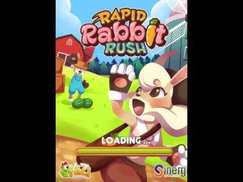 RAPID RABBIT RUSH кролик бегает и собирает морковку