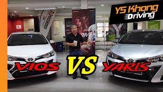 Yaris vs Vios 2019 - Which to Buy? | YS Khong Driving