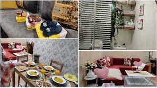روتين الحداݣة☘️تغييرات في الحمام النتيجة 💥💥تنظيم وديكور المنزل ☘️أحذية الأطفال التمن جد مناسب💪