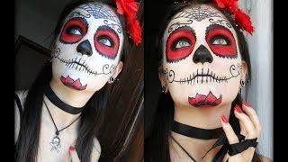 Dìa De Los Muertos Makeup Thumbnail
